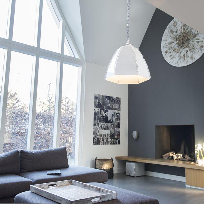 -Lámpara-colgante-diseño-blanca---NIRO
