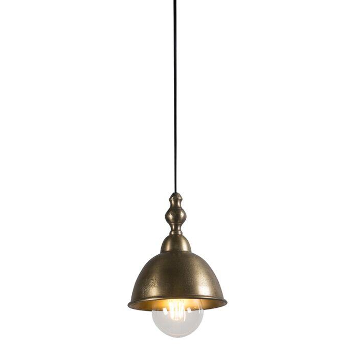 Lámpara-colgante-PANILLA-pequeña-bronce