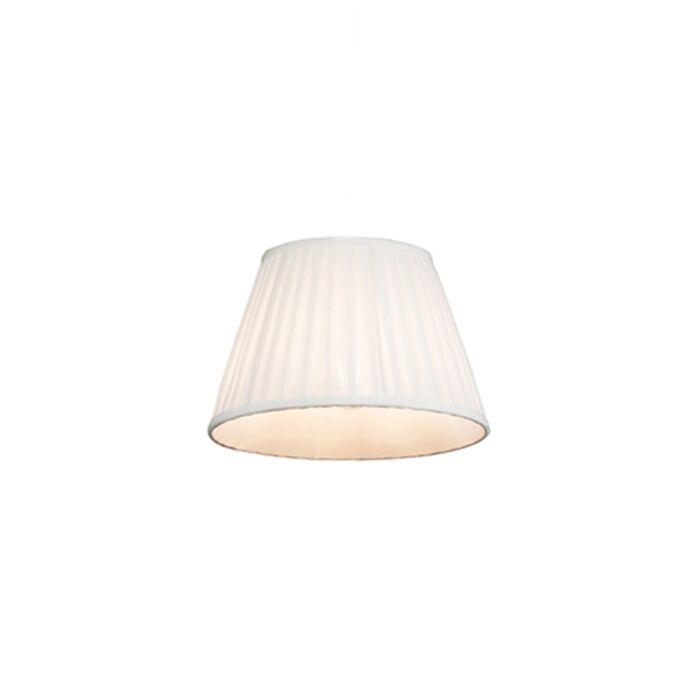 Pantalla-plisada-blanca-25/16.5-cm-PLISSE