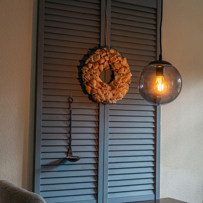 Lámpara-colgante-moderna-gris-20-cm---PALLON