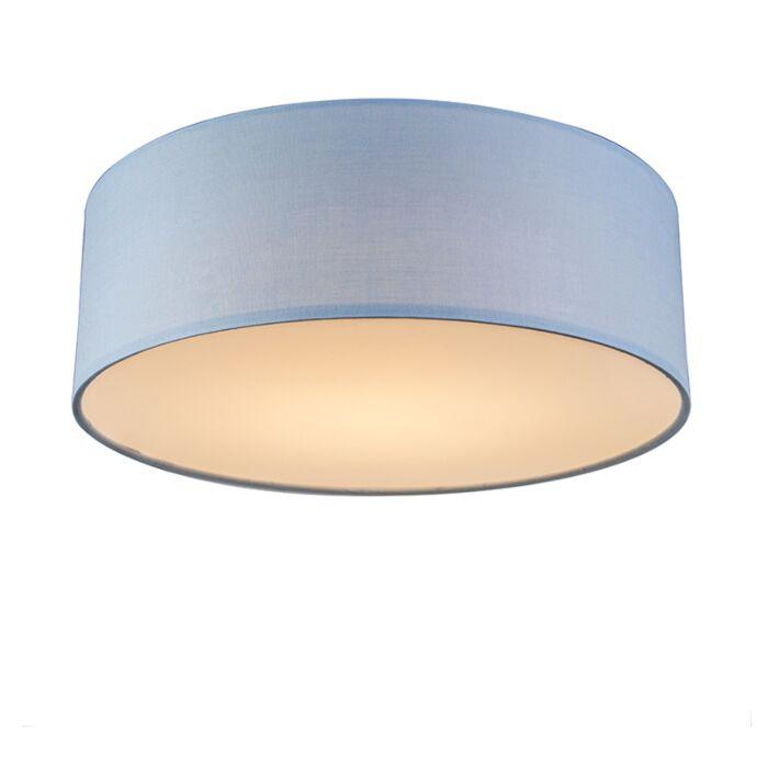 Plafón-azul-30cm-LED---DRUM-LED