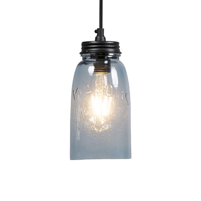 Lámpara-colgante-MASONS-lila-pastel