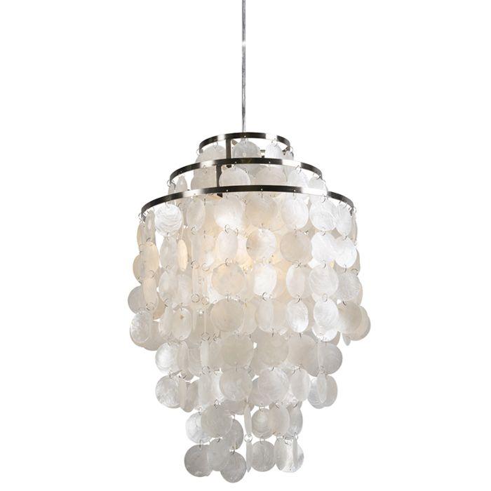 Lámpara-colgante-FLAKE-blanco