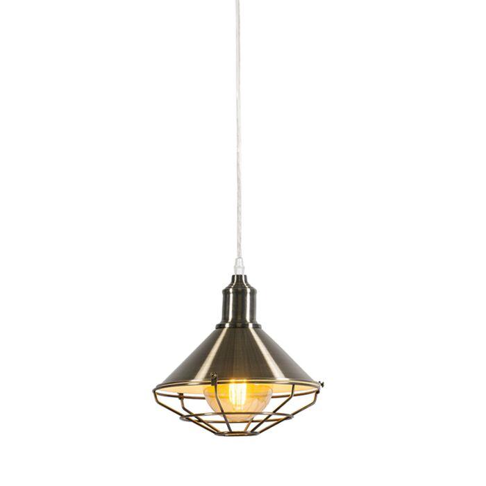 Lámpara-colgante-TOLL-oro