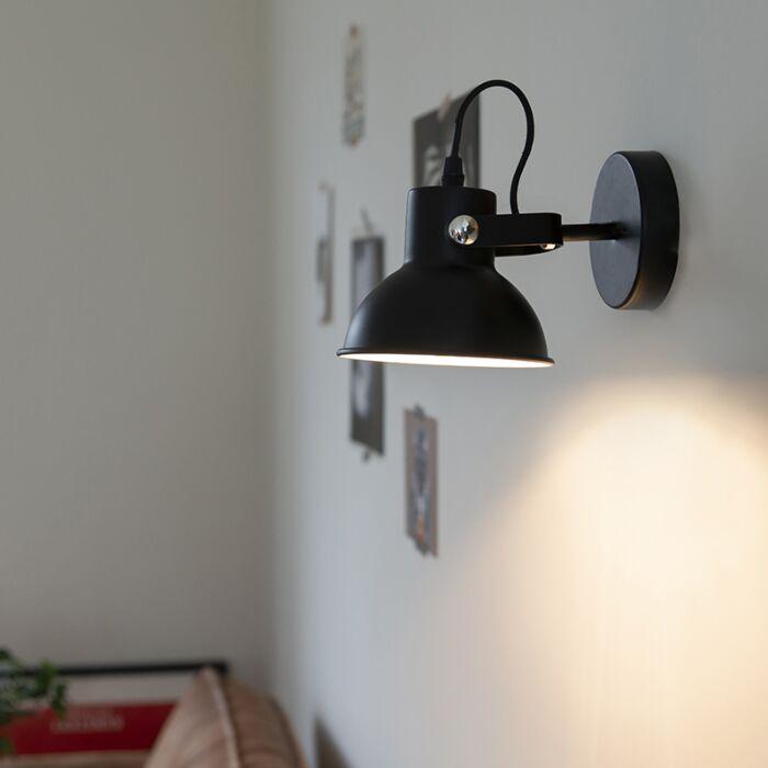 Foco-industrial-negro-orientable---GUIDA