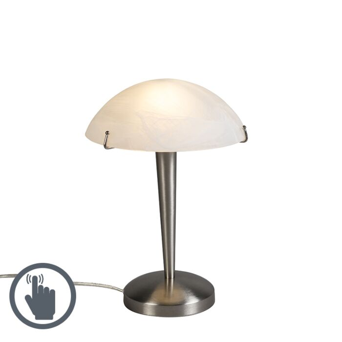 Lámpara-de-mesa-TABLET-2-acero-táctil
