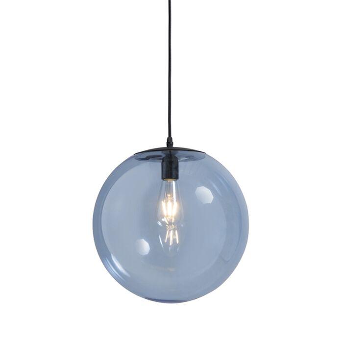Lámpara-colgante-PALLON-35-azul