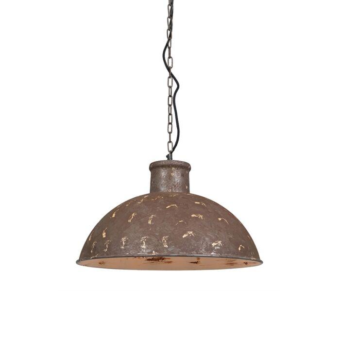 Lámpara-colgante-vintage-marrón---Raider