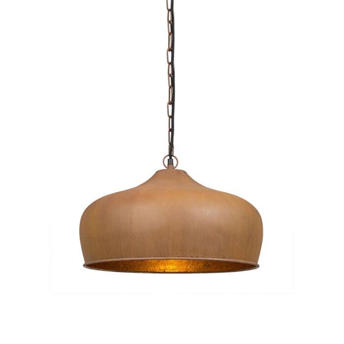 Lámpara-colgante-vintage-marrón-óxido---Colt