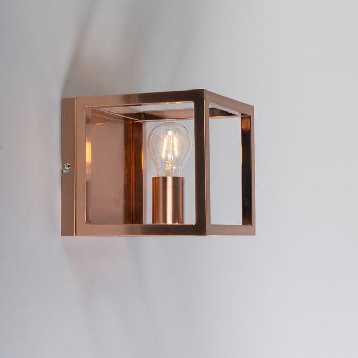 Lámpara-de-pared-Cage-1-lámpara-de-cobre