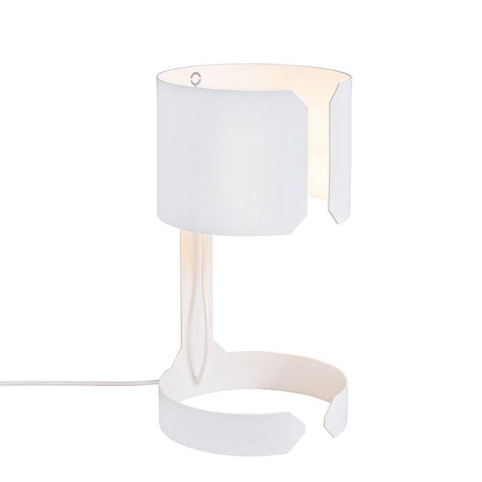 Lámpara-mesa-diseño-blanca---WALTZ