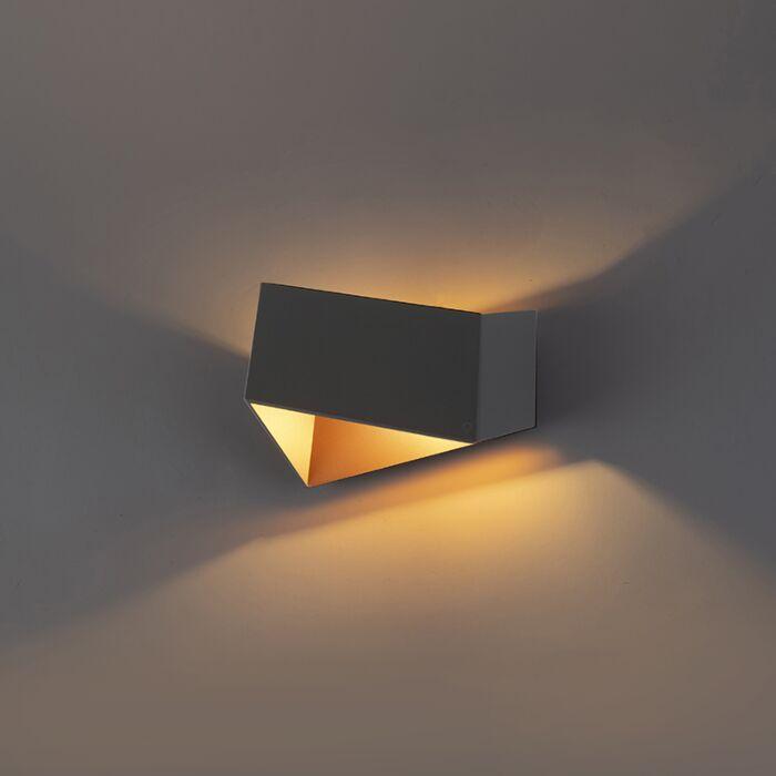 Aplique-diseño-gris/cobre--FOLD