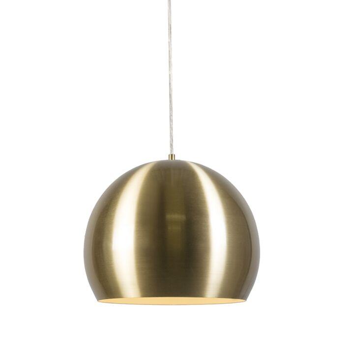 Lámpara-colgante-ORB-dorada-33cm