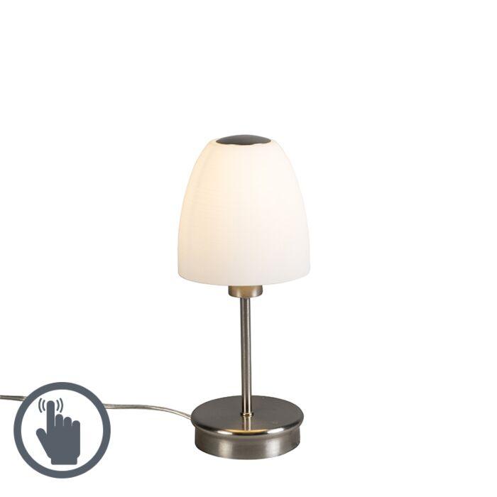 Lámpara-de-mesa-TABLET-1-acero-táctil