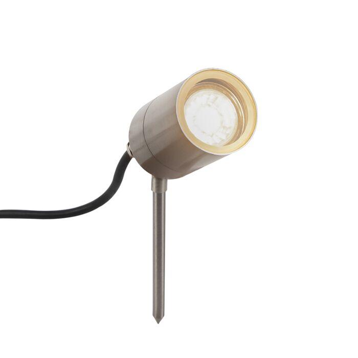 Foco-de-estaca-acero-ajustable-IP44---SOLO