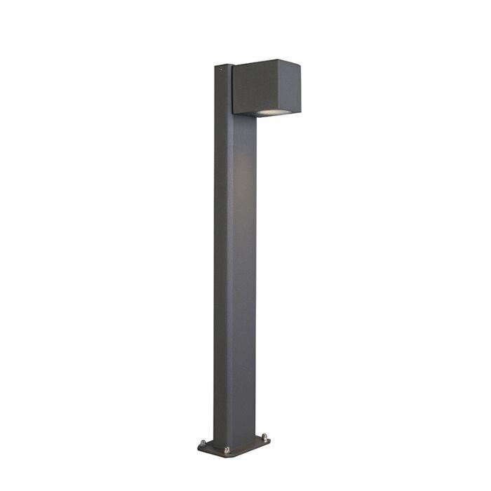 Baliza-industrial-antracita-65cm-IP44---BALENO