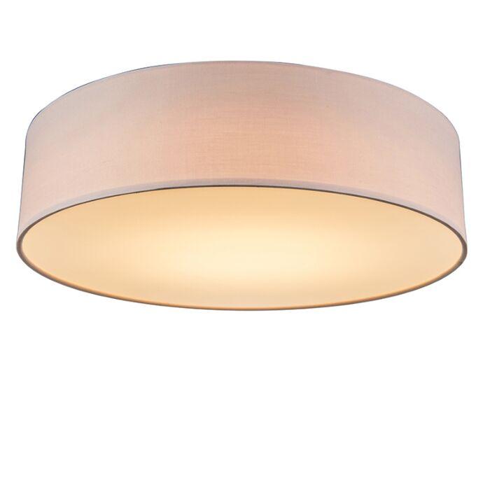 Plafón-rosa-40cm-LED---DRUM-LED