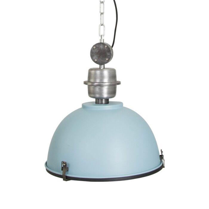Lámpara-colgante-GOSPODIN-azul-con-negro