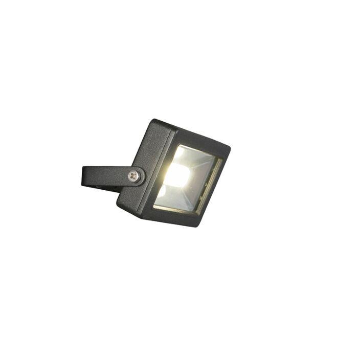 Radiador-moderno-negro-con-LED-10W---Telix