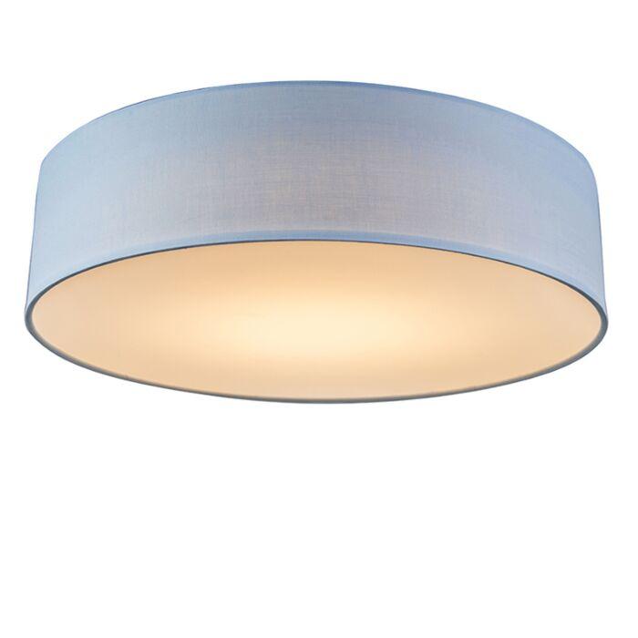 Plafón-azul-40cm-LED---DRUM-LED