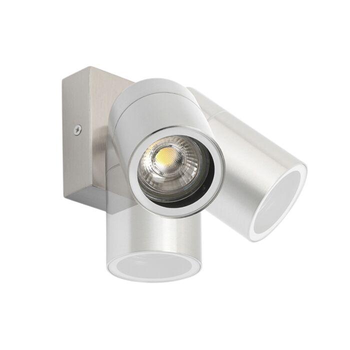 Aplique-exterior-acero-orientable-IP44---SOLO