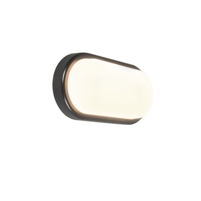 Aplique-UNITED-8W-ovalado-negro