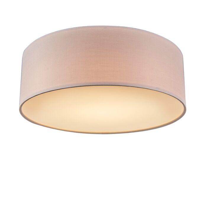 Plafón-rosa-de-30cm-LED---DRUM-LED