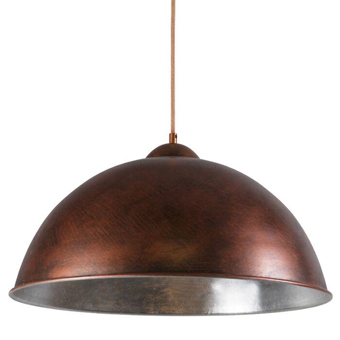 Lámpara-colgante-ONERO-cobre/plata