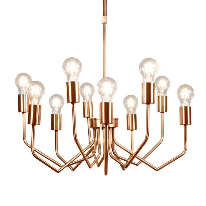Lámpara-colgante-RITZ-10-cobre