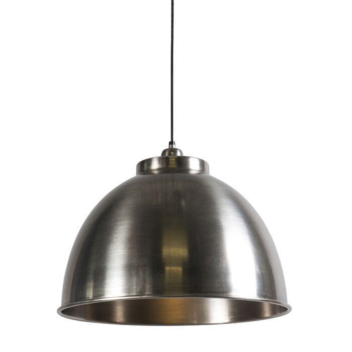 Lámpara-colgante-HOODI-plata