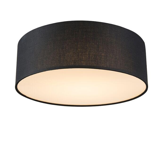 Plafón-negro-30cm-LED---DRUM-LED