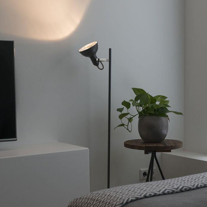 Lámpara-de-pie-moderna-gris-oscuro---TOMMY-1