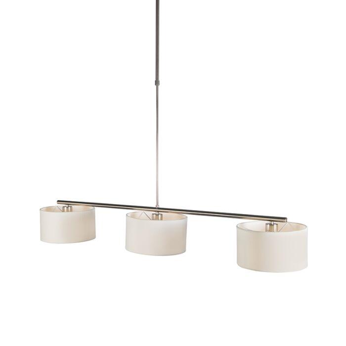 Lámpara-colgante-moderna-redonda-blanca---VT-3