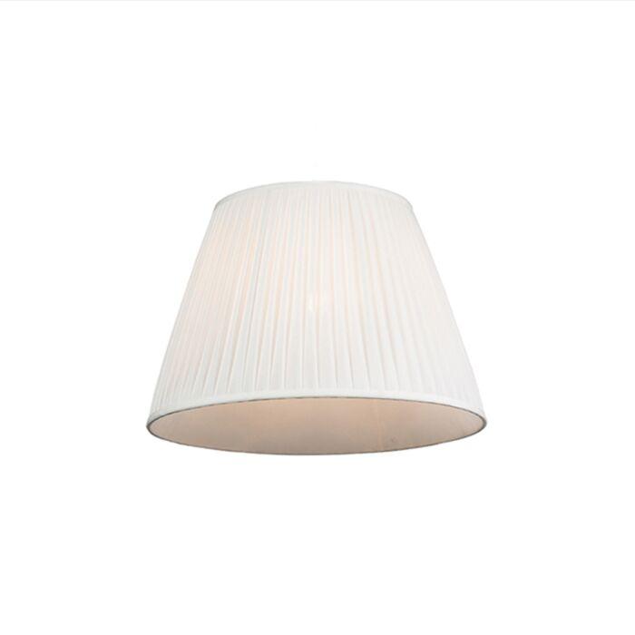Pantalla-plisada-blanca-45/30cm---PLISSE