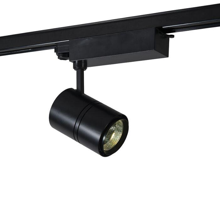 Foco-de-carril-triásico-negro-4000K-LED---RULER-38