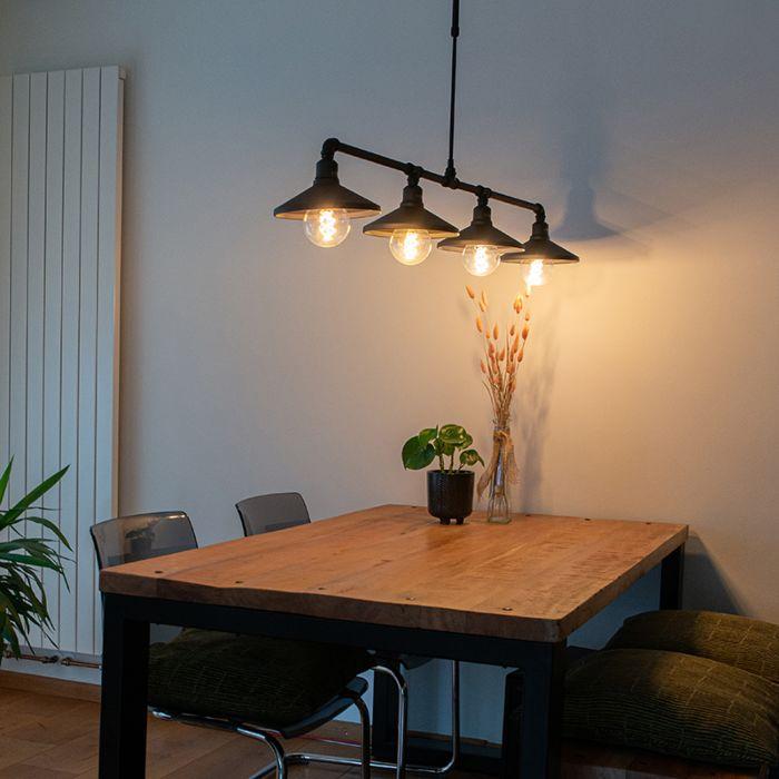 Lámpara-colgante-industrial-negra---4-LASER