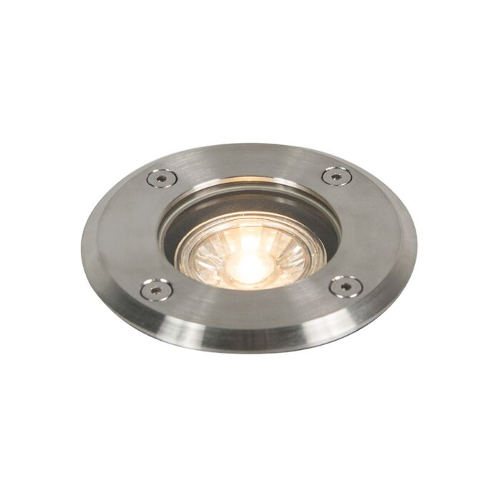 Foco-de-suelo-acero-11cm-IP67---BASIC-ROUND