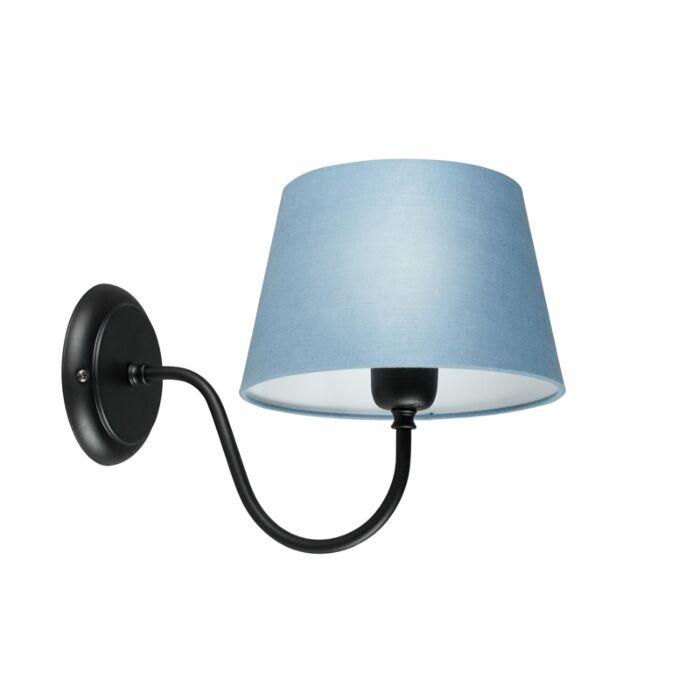 Aplique-COMBI-Classic-negro-con-pantalla-20cm-azul