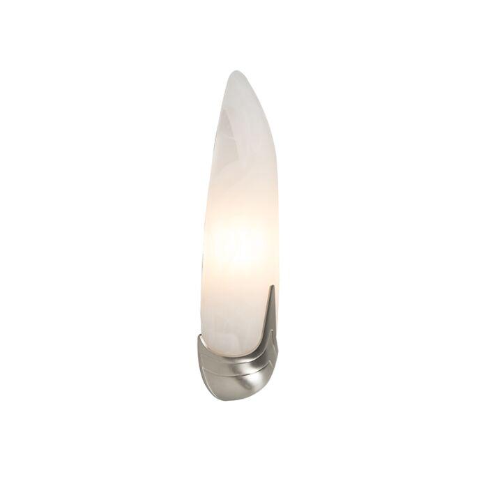 Aplique-MATTEO-níquel-con-cristal-de-alabastro