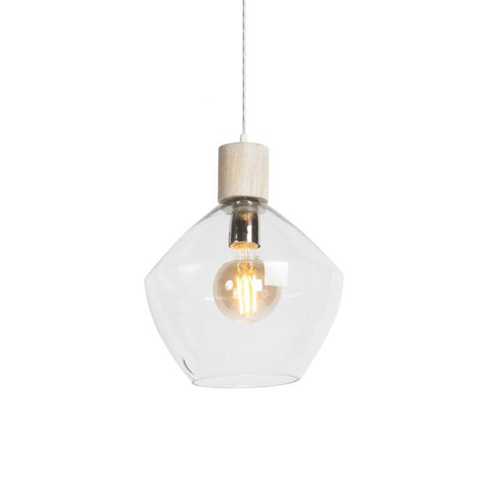 Lámpara-colgante-ALVA-cristal-transparente