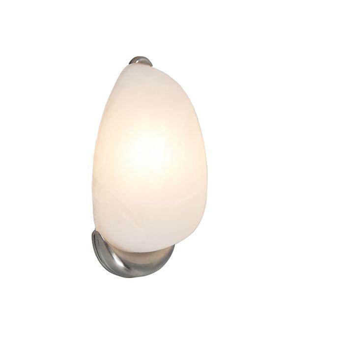 Aplique-DANTE-níquel-con-cristal-de-alabastro