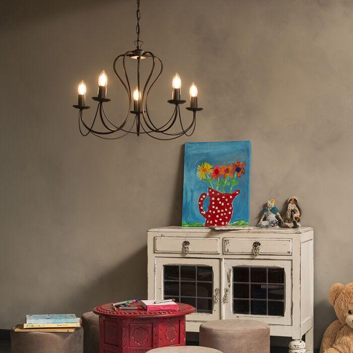 Lámpara-de-araña-clásica-óxido---COMO-5