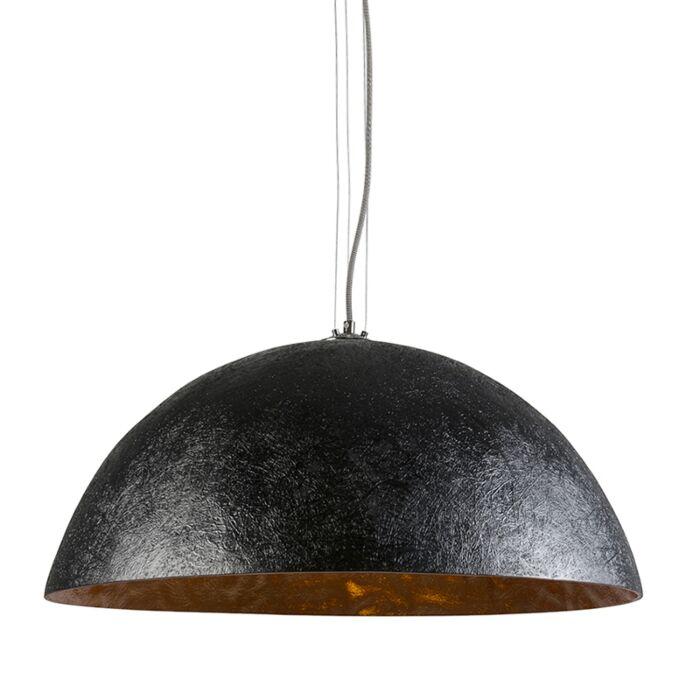 Lámpara-colgante-MAGNA-70-negra---oro