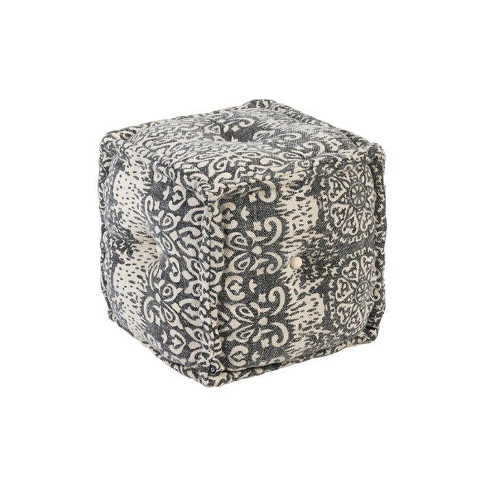 Puf-cuadrado-oriental-40x40cm-gris---MUMBAI