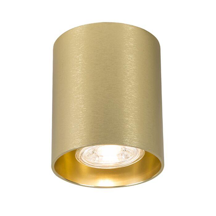 Foco-redondo-oro---TUBO-1