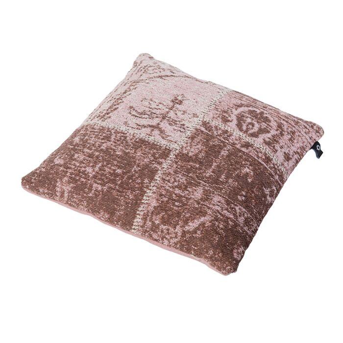 Cojín-vintage-cuadrado-rosa-envejecido-45-x-45cm---AGRA