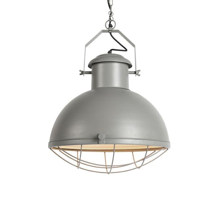 Lámpara-colgante-industrial-gris---ENGINE