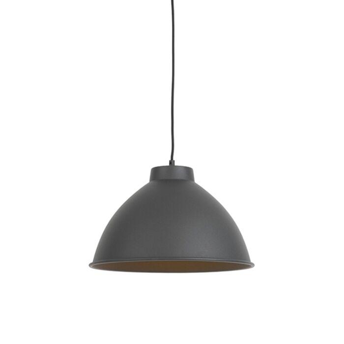 Lámpara-colgante-ANTERIO-38-Basic-negra