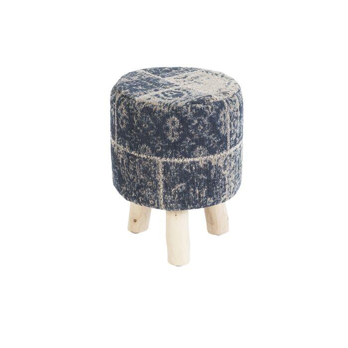 Taburete-redondo-vintage-azul-30-x-30-x-40cm---AGRA