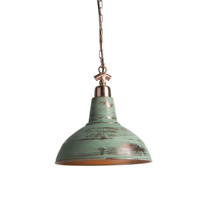 Lámpara-colgante-industrial-cobre-envejecido---GOLIATH